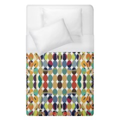 Retro Pattern Abstract Duvet Cover (single Size) by Amaryn4rt
