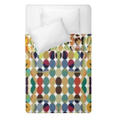 Retro Pattern Abstract Duvet Cover Double Side (single Size) by Amaryn4rt
