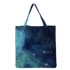 Space Grocery Tote Bag by Brittlevirginclothing