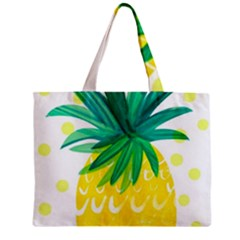Cute Pineapple Mini Tote Bag by Brittlevirginclothing