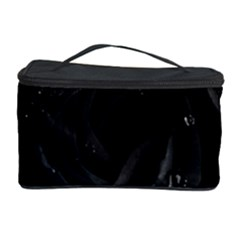 Black Rose Cosmetic Storage Case by Brittlevirginclothing