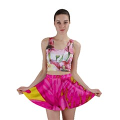 Cute Pink Flower Mini Skirt by Brittlevirginclothing