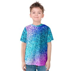 Rainbow Sparkles Kids  Cotton Tee by Brittlevirginclothing