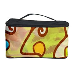 Abstract Faces Abstract Spiral Cosmetic Storage Case by Amaryn4rt