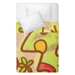 Abstract Faces Abstract Spiral Duvet Cover Double Side (Single Size)