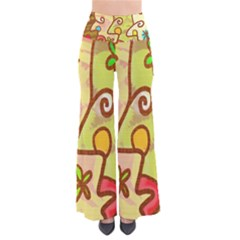 Abstract Faces Abstract Spiral Pants by Amaryn4rt
