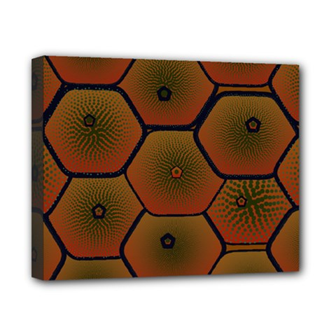 Art Psychedelic Pattern Canvas 10  X 8  by Amaryn4rt