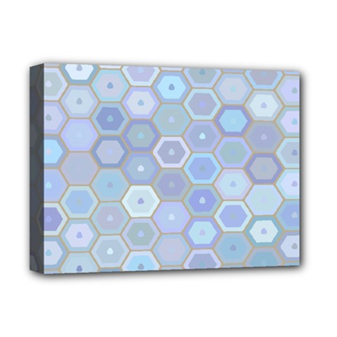 Bee Hive Background Deluxe Canvas 16  X 12   by Amaryn4rt