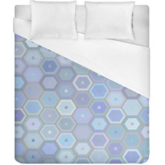 Bee Hive Background Duvet Cover (california King Size) by Amaryn4rt