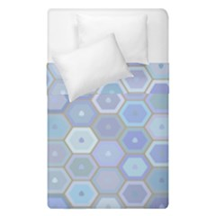 Bee Hive Background Duvet Cover Double Side (single Size) by Amaryn4rt