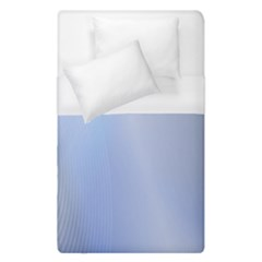 Blue Star Background Duvet Cover (Single Size) by Amaryn4rt