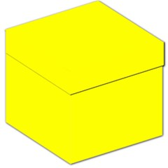 Yellow Color Storage Stool 12   by Jojostore