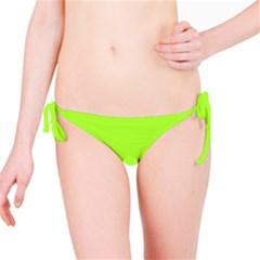Green Color Bikini Bottom