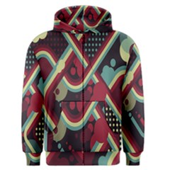 Illustration Men s Zipper Hoodie by Jojostore