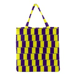 Preview Wallpaper Optical Illusion Stripes Lines Rectangle Grocery Tote Bag