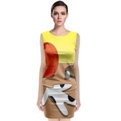 Sport Classic Sleeveless Midi Dress by Jojostore
