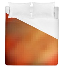 Bright Tech Background Duvet Cover (queen Size) by Amaryn4rt
