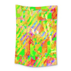 Cheerful Phantasmagoric Pattern Small Tapestry by Amaryn4rt