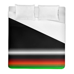 Colorful Neon Background Images Duvet Cover (full/ Double Size) by Amaryn4rt