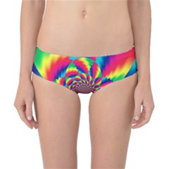 Colorful Psychedelic Art Background Classic Bikini Bottoms by Amaryn4rt