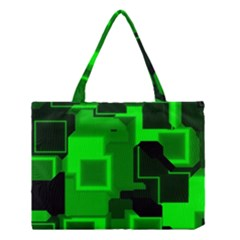Cyber Glow Medium Tote Bag by Amaryn4rt