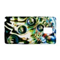 Dark Abstract Bubbles Samsung Galaxy Note 4 Hardshell Case View1