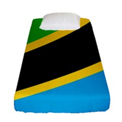 Flag Of Tanzania Fitted Sheet (single Size)