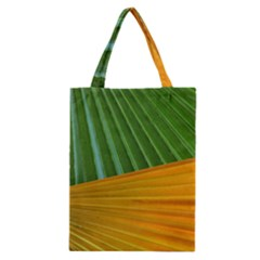 Pattern Colorful Palm Leaves Classic Tote Bag by Amaryn4rt