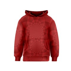 Psychedelic Art Red  Hi Tech Kids  Pullover Hoodie by Amaryn4rt