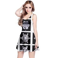 Snowflakes Exemplifies Emergence In A Physical System Reversible Sleeveless Dress