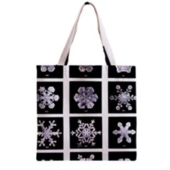 Snowflakes Exemplifies Emergence In A Physical System Grocery Tote Bag