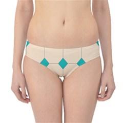 Tile Pattern Wallpaper Background Hipster Bikini Bottoms