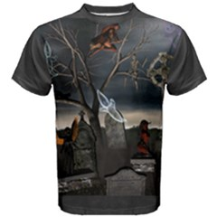 All Hallows Eve Cotton Tee by smartoffantasy