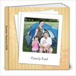 Summer Vacation 2008 - 8x8 Photo Book (30 pages)