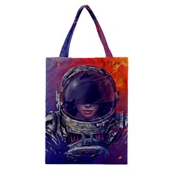 Eve Of Destruction Cgi 3d Sci Fi Space Classic Tote Bag by Onesevenart