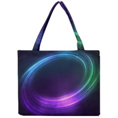 Spaces Ring Mini Tote Bag by AnjaniArt