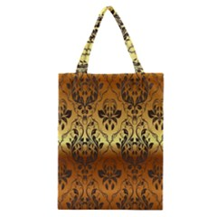Vintage Gold Gradient Golden Resolution Classic Tote Bag by AnjaniArt