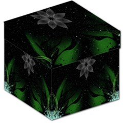 Night Sky Flower Storage Stool 12   by AnjaniArt