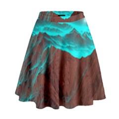 Shera Stringfellow High Waist Skirt by Onesevenart