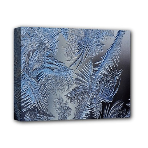 Frost Leafe Deluxe Canvas 14  X 11  by AnjaniArt
