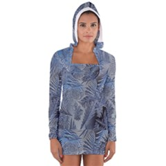 Frost Leafe Women s Long Sleeve Hooded T-shirt