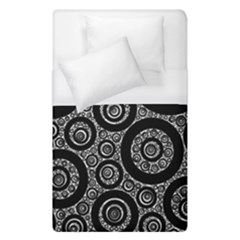 Selected Figures From The Paper Circle Black Hole Duvet Cover (single Size) by AnjaniArt