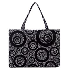 Selected Figures From The Paper Circle Black Hole Medium Zipper Tote Bag by AnjaniArt