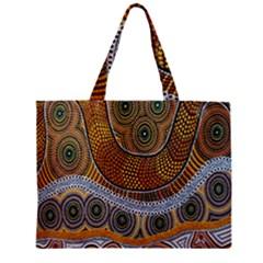 Batik Zipper Mini Tote Bag by AnjaniArt
