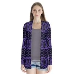 Background Colour Purple Circle Cardigans by AnjaniArt
