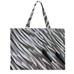 Abstract Background Geometry Block Large Tote Bag by Amaryn4rt
