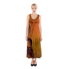 Abstraction Color Closeup The Rays Sleeveless Maxi Dress by Amaryn4rt
