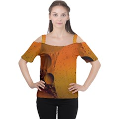 Abstraction Color Closeup The Rays Women s Cutout Shoulder Tee by Amaryn4rt