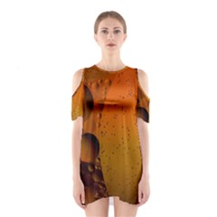 Abstraction Color Closeup The Rays Shoulder Cutout One Piece by Amaryn4rt