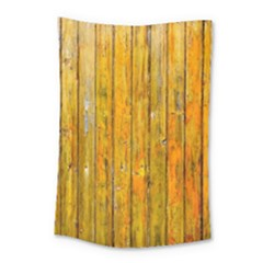 Background Wood Lath Board Fence Small Tapestry by Amaryn4rt